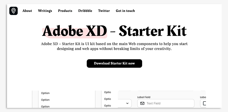 kit ui adobe xd gratis